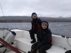 Spring Sailing on Coniston Water