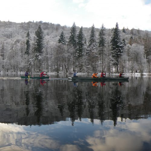 Winter Canoeing in the Lake District