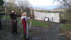 Stag party Archery in the Lake District
