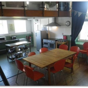 Lowick School Bunkhouse kitchen-diner
