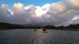 Winter Kayaking in the Lake District