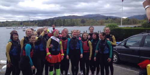 Hen house party fun in the Lake District