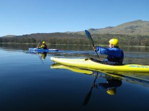 Kayaking in the Lake District