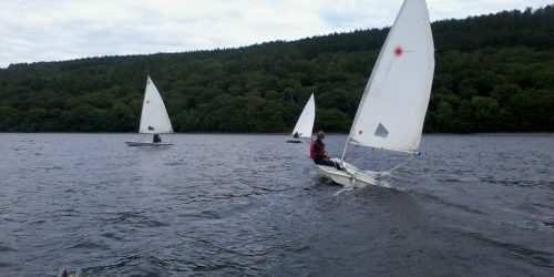 Sailing skills coaching on Coniston Water