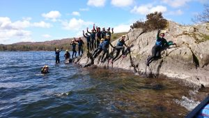 School group adventures in the Lake District