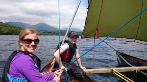 Lake District Canoe-sailing