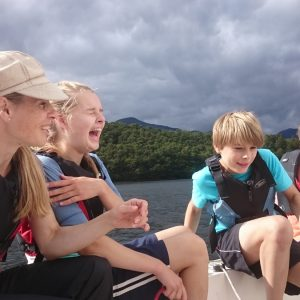 Family Sailing in the Lake District