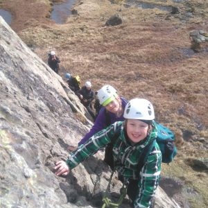 Climbing Adventure Day in the Lake District