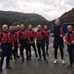 Corporate Gorge Walking