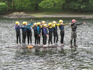 School Canoeing Activities in the Lake District