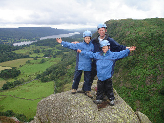 Family activity holiday in the Lake District