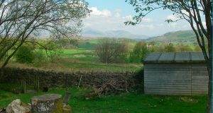 Lowick School Bunkhouse view of the Lake District
