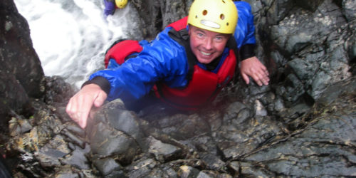 Gorge Walking in the Esk Valley
