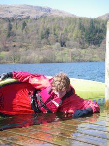 Kayak skills coaching on coniston water