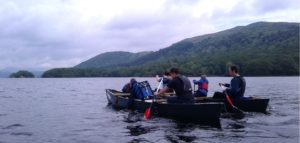 Canoeing for wheelchair users in the Lake District