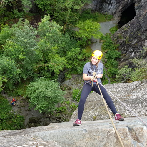 Inclusive and Accessible Abseiling in the Lake District