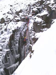Winter Gorge Walking